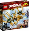 LEGO LEGO 70666 Ninjago Le dragon d'or 673419301718