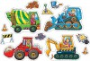 Orchard Toys Casse-tête 4x2 8x2 camions de contruction 5011863301017