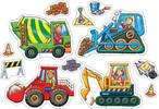 Orchard Toys Casse-tête 4x2 8x2 camions de contruction 5011863301017