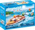 Playmobil Playmobil 70091 Bateau avec bouées et vacanciers 4008789700919