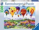 Ravensburger Casse-tête 1500 Les montgolfières 4005556163472