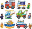 Orchard Toys Casse-tête 3-4x6 équipe de sauvetage 5011863301116