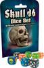 Dés 8xd6 Skull dice set (multicolor) 080742096608