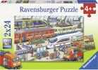 Ravensburger Casse-tête 24x2 tumulte à la gare 4005556091911