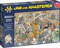 Jumbo Casse-tête 3000 Jan van Haasteren - La Galerie des Curiosités 8710126200315