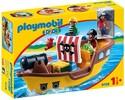 Playmobil Playmobil 9118 1.2.3 Bâteau de pirates 4008789091185