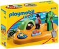 Playmobil Playmobil 9119 1.2.3 Ile de pirate 4008789091192