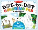 Melissa & Doug Bloc à colorier à numéros point à point animaux sauvages Melissa & Doug 9104 000772191043
