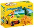 Playmobil Playmobil 9120 1.2.3 Explorateur et dinosaures 4008789091208