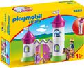 Playmobil Playmobil 9389 1.2.3 Chateau de princesse avec tours empilables 4008789093899