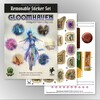 Cephalofair Games Gloomhaven (en) ext Autocolants réutilisables: Forgotten Circles 604565193629