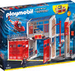 Playmobil Playmobil 9462 Caserne de pompiers avec hélicoptère 4008789094629