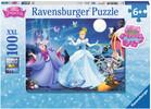 Ravensburger Casse-tête 100 XXL Princesse Disney Scintillante Cendrillon, scintillant 4005556136711