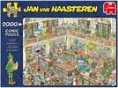 Jumbo Casse-tête 2000 Jan van Haasteren - La bibliothèque 8710126200308