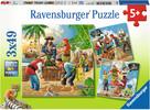 Ravensburger Casse-tête 49x3 Adventure en haute mer 4005556080304