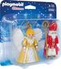 Playmobil Playmobil 5592 Saint Nicolas et ange doré (sep 2015) 4008789055927