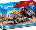 Playmobil Playmobil 70444 Camion benne et plateforme interchangeable 4008789704443