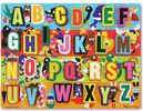 Melissa & Doug Casse-tête grosses pièces alphabet en anglais jumbo en bois (lettres) Melissa & Doug 3833 000772038331