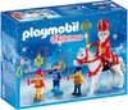 Playmobil Playmobil 5593 Saint Nicolas avec enfants (sep 2015) 4008789055934