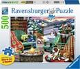 Ravensburger Casse-tête 500 Large Après-ski 4005556164424