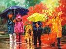 Anatolian Puzzles Casse-tête 1000 enfants sous la pluie 8698543131538