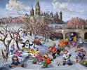 Trefl Casse-tête 1000 Paquin - Canal Rideau, Ottawa, Ontario, Canada 5900511104158
