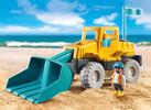 Playmobil Playmobil 9145 Chargeur avec pelle pour le sable 4008789091451