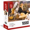 Belvédère jouet Casse-tête 1000 Boites Modulaires Chaton Cuistot 061152703003