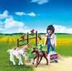Playmobil Playmobil 9207 Oeuf Vétérinaire avec poulains 4008789092076