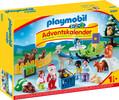 Playmobil Playmobil 9391 Calendrier de l'Avent 1.2.3 Père Noël et animaux de la forêt 4008789093912