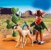 Playmobil Playmobil 5373 Cowboy avec poulain (juil 2016) 4008789053732