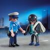 Playmobil Playmobil 9218 Duo Policier et voleur 4008789092182