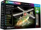 Laser Pegs - briques illuminées Laser Pegs hélicoptère 8 en 1 (briques illuminées) 810690020086