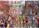 Gibsons Casse-tête 1000 Le Tour cycliste de Yorkshire, Angleterre, Royaume-Uni 5012269062052