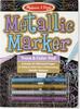 Melissa & Doug Bloc à colorier et marqueurs couleurs métalliques Melissa & Doug 9320 000772093200