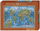 Heye Casse-tête 2000 amazing World 4001689298463
