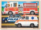 Melissa & Doug Casse-tête 24 véhicules d'urgence en bois Melissa & Doug 9062 000772090629