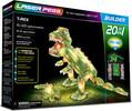 Laser Pegs - briques illuminées Laser Pegs dinosaure Tyrannosaure (T. rex) 20 en 1 (briques illuminées) 810690020130