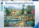 Ravensburger Casse-tête 2000 Pause au jardin 4005556166374