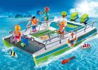 Playmobil Playmobil 9233 Catamaran à fond de verre avec moteur submersible 4008789092335