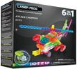 Laser Pegs - briques illuminées Laser Pegs hélicoptère d'attaque 6 en 1 (briques illuminées) 810690021472