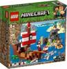 LEGO LEGO 21152 Minecraft L'aventure du bateau pirate 673419304467