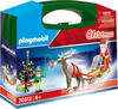 Playmobil Playmobil 70312 Mallette transportable Père Noël et traîneau 4008789703125