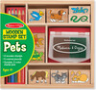 Melissa & Doug Étampes animaux de compagnie en bois Melissa & Doug 9363 000772093637