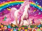 Ravensburger Casse-tête 100 XXL rêve de cheval, scintillant 4005556139279