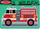 Melissa & Doug Casse-tête sonore camion de pompier Melissa & Doug 731 000772107310