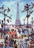 Heye Casse-tête 1000 J-J Loup - tour Eiffel, Paris, France 4001689293581