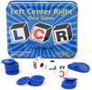 Koplow Games Jeu LCR (en) boite métal, jeu de dés (Left Center Right) 766631001198