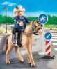 Playmobil Playmobil 9260 Policier avec cheval 4008789092601
