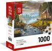 Belvédère jouet Casse-tête 1000 Boites Modulaires Refuge Enchanteur 061152702709